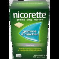 Nicorette 2 Mg Gom à Mâcher Médic Sans Sucre Menthe Fraîche Plq/105gom à Saint-Avold