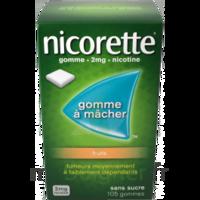 Nicorette 2 Mg Gomme à Mâcher Médicamenteuse Sans Sucre Fruits Plq/30 à Saint-Avold