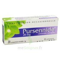 PURSENNIDE 20 mg, comprimé enrobé à Saint-Avold