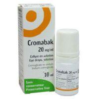 CROMABAK 20 mg/ml, collyre en solution à Saint-Avold