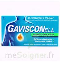 Gavisconell Coprimés à Croquer Sans Sucre Menthe édulcoré à L'aspartam Et à L'acésulfame Potas Plq/24 à Saint-Avold