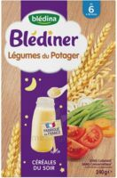 Blédîner Céréales Légumes du potager 240g à Saint-Avold