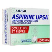 Aspirine Upsa Tamponnee Effervescente 1000 Mg, Comprimé Effervescent à Saint-Avold