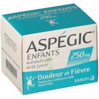 Aspegic Enfants 250, Poudre Pour Solution Buvable En Sachet-dose à Saint-Avold
