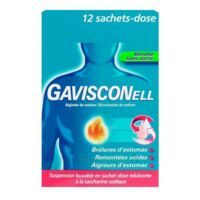GAVISCONELL Suspension buvable sachet-dose menthe sans sucre 12Sach/10ml à Saint-Avold