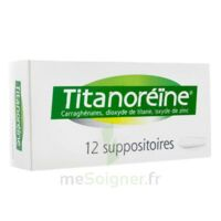 TITANOREINE Suppositoires B/12 à Saint-Avold
