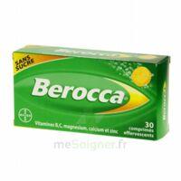 Berocca Comprimés effervescents sans sucre T/30 à Saint-Avold