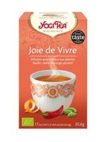 Yogi Tea Tisane Ayurvédique Joie De Vivre Bio 17 Sachets/1,8g à Saint-Avold