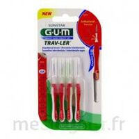 GUM TRAV - LER, 0,8 mm, manche rouge , blister 4 à Saint-Avold
