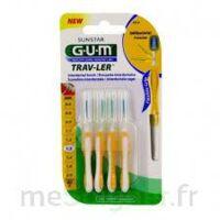Gum Trav - Ler, 1,3 Mm, Manche Jaune , Blister 4 à Saint-Avold