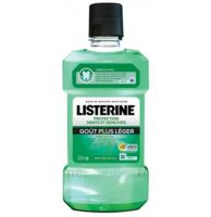 Listerine Protection Dents Gencives Bain bouche goût plus léger Fl/500ml à Saint-Avold