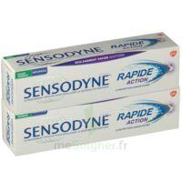 Sensodyne Rapide Pâte Dentifrice Dents Sensibles 2*75ml à Saint-Avold