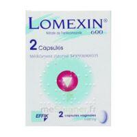 LOMEXIN 600 mg Caps molle vaginale Plq/2 à Saint-Avold