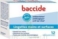 Baccide Lingette désinfectante mains & surface 12 Pochettes à Saint-Avold