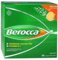 Berocca Comprimés effervescents sans sucre T/60 à Saint-Avold