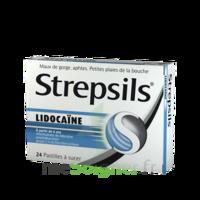 Strepsils lidocaïne Pastilles Plq/24 à Saint-Avold