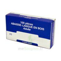 Cooper Abaisse-langue Bois Adulte B/100 à Saint-Avold
