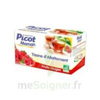 Picot Maman Tisane d'allaitement Fruits rouges 20 Sachets à Saint-Avold