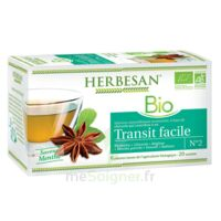 Herbesan Infusion Bio Tisane transit facile 20 Sachets à Saint-Avold