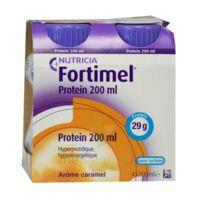 Fortimel Protein Nutriment Caramel 4 Bouteilles/200ml à Saint-Avold