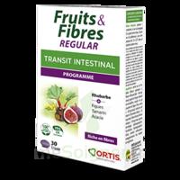 Ortis Fruits & Fibres Regular Comprimés B/30 à Saint-Avold