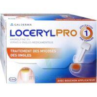 LOCERYLPRO 5 % V ongles médicamenteux Fl/2,5ml+spatule+30 limes+lingettes à Saint-Avold