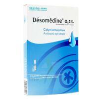 Desomedine 0,1 % Collyre Sol 10fl/0,6ml à Saint-Avold
