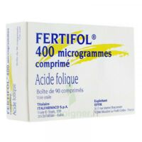FERTIFOL 400 µg Cpr Plq/90 à Saint-Avold