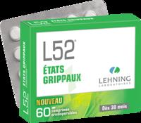 Lehning L52 Comprimés Orodispersibles Plq Pvc/pvdc/alu/60 à Saint-Avold