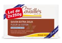 Rogé Cavaillès Savon Solide Surgras Extra Doux Fleur De Coton 2x250g à Saint-Avold