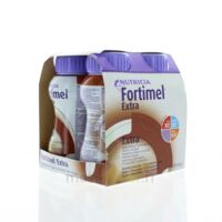 FORTIMEL EXTRA Nutriment chocolat 4Bouteilles/200ml à Saint-Avold