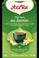 Yogi Tea Thé Vert Jasmin Bio 17 Sachets/1,8g à Saint-Avold