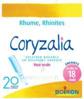 Boiron Coryzalia Solution buvable unidose B/20 à Saint-Avold