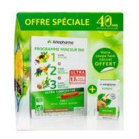 Arkofluides Programme Minceur Bio 30 ampoules/10ml + Arkogélules Konjac B/45 Offre spéciale 40 ans de santé naturelle à Saint-Avold