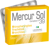 Lehning Mercur Sol Complexe N°39 Comprimés Sublinguals B/60 à Saint-Avold