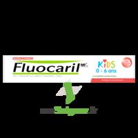 Fluocaril Kids Dentifrice Fraise 0-6 Ans T/50ml à Saint-Avold