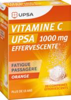 Vitamine C Upsa Effervescente 1000 Mg, Comprimé Effervescent à Saint-Avold