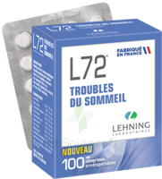 Lehning L72 Comprimés Orodispersibles Plq Pvc/pvdc/alu/100 à Saint-Avold